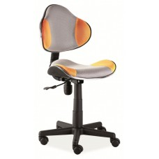 Кресло компьютерное  Q-G2 оранжево\серое