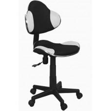 Кресло компьютерное SIGNAL Q-G2 черно\белое