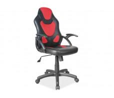 Кресло компьютерное SIGNAL Q-100 черный/красный