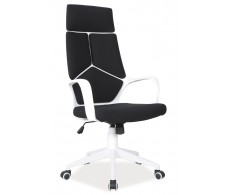 Кресло компьютерное SIGNAL Q-199 черно\белое