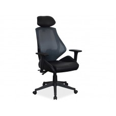 Кресло компьютерное SIGNAL Q-406 черный