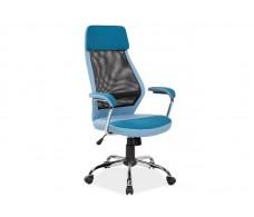 Кресло компьютерное SIGNAL Q-336 синее\черное
