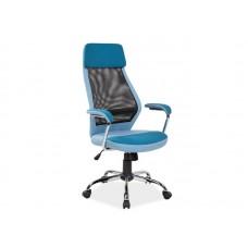 Кресло компьютерное  Q-336 синее\черное