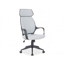 Кресло компьютерное Q-188 серый NEW