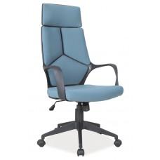 Кресло компьютерное SIGNAL Q-199 черно\синее