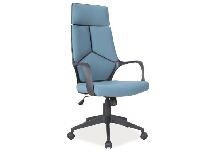 Кресло компьютерное  Q-199 черно\синее