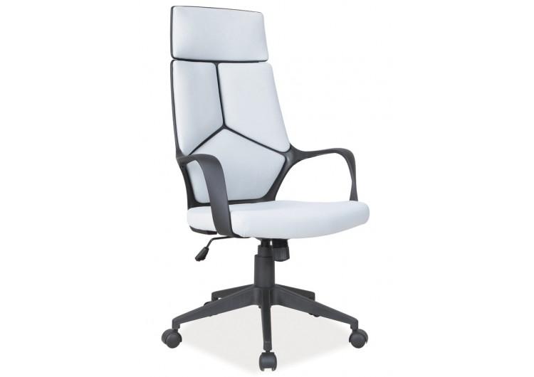 Кресло компьютерное SIGNAL Q-199 черно\серое