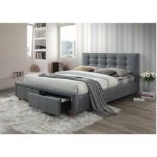Кровать SIGNAL ASCOT серый, 160/200 NEW