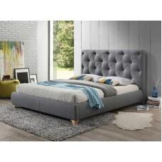 Кровать BUGATTI серый, 160/200 NEW