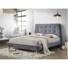 Кровать SIGNAL DONA VELVET серый, 160/200 NEW