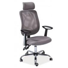 Кресло компьютерное SIGNAL Q-118 серое