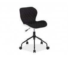 Кресло компьютерное SIGNAL RINO белый/черный