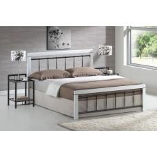 Кровать SIGNAL BERLIN бело\черная 160/200