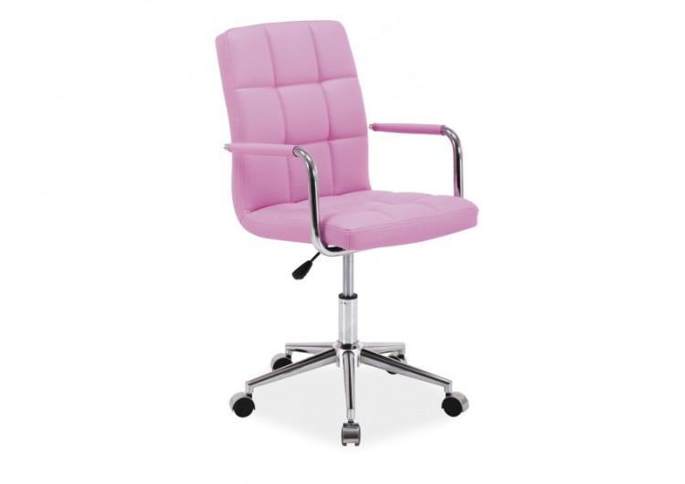 Кресло компьютерное  Q-022 розовое