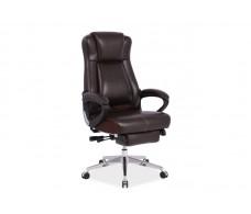 Кресло компьютерное SIGNAL PRESIDENT коричневый