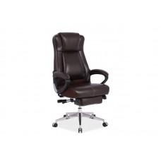 Кресло компьютерное SIGNAL PRESIDENT коричневый NEW