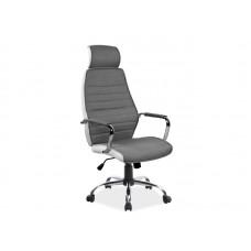 Кресло компьютерное SIGNAL Q-035 белый/серый NEW