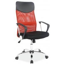 Кресло компьютерное SIGNAL Q-025 красно\черное