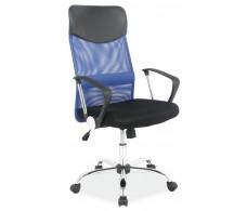\\Кресло компьютерное SIGNAL Q-025 сине\черное