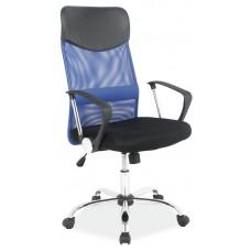 Кресло компьютерное SIGNAL Q-025 сине\черное