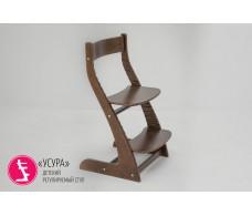 Детский растущий регулируемый стул  Усура  орех