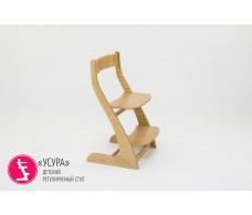 Детский растущий регулируемый стул  Усура  древесный