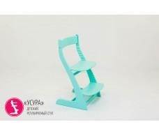 Детский растущий регулируемый стул  Усура  мятный