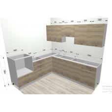 Кухня ДСВ Мебель  Лофт