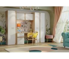 Бриз СТЛ.420.00 набор бытовой мебели дуб сонома/белый
