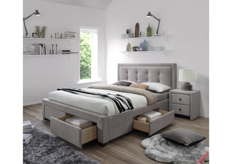 Кровать Halmar Evora бежевая
