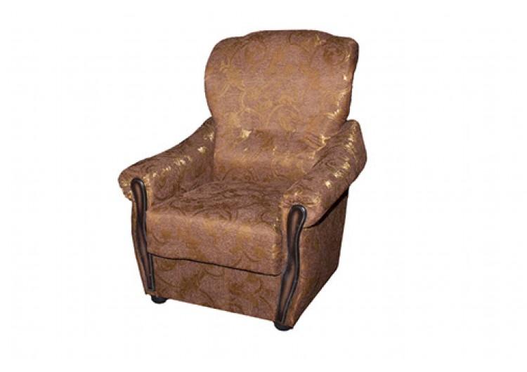 кресло уют коричневое