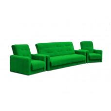 Диван Милан + 2 кресла зеленый