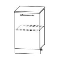 Шкаф нижний С 601