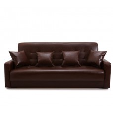Диван Аккорд коричневый 140 ППУ