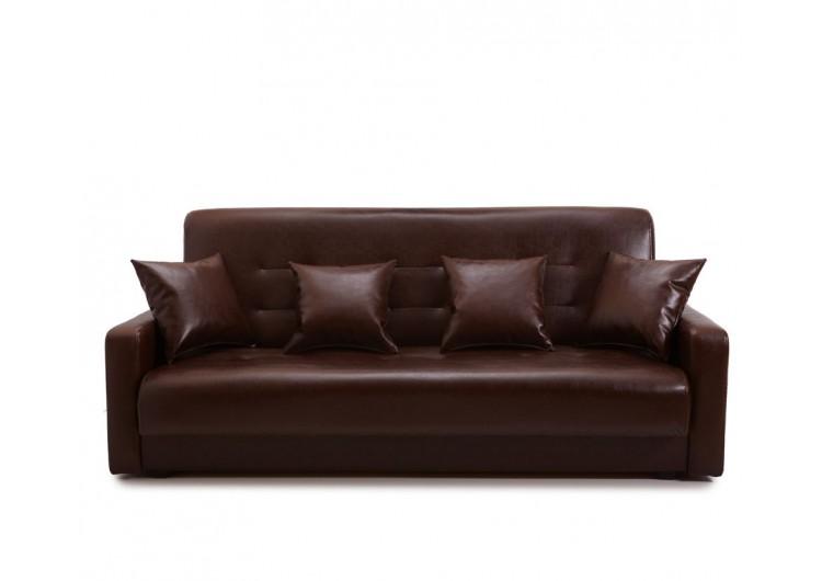 Диван Аккорд коричневый