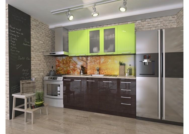 Кухня Интерьер-центр Рио Лайм/ Венге 1,8 м