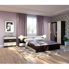 Спальня Уют венге / дуб белфорд +шкаф