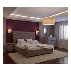 Кровать Богема velvet lux 96