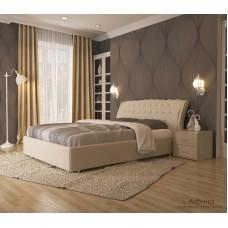 Кровать Уют Афина velvet lux 46