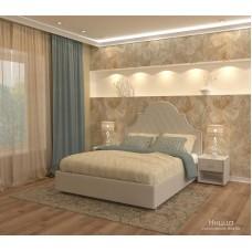 Кровать Ницца  velvet lux 36