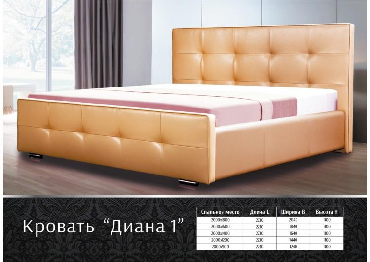Кровать Диана 1