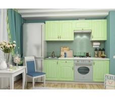 Кухня ДСВ Мебель Монако фисташка 2,1 м