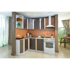 Кухонный гарнитур левый Бланка Белый/Венге