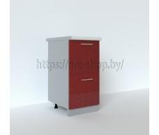 Шкаф нижний с двумя ящиками С2К 400