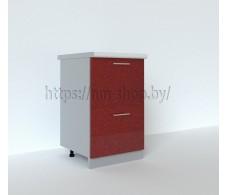 Шкаф нижний с двумя ящиками С2К 500