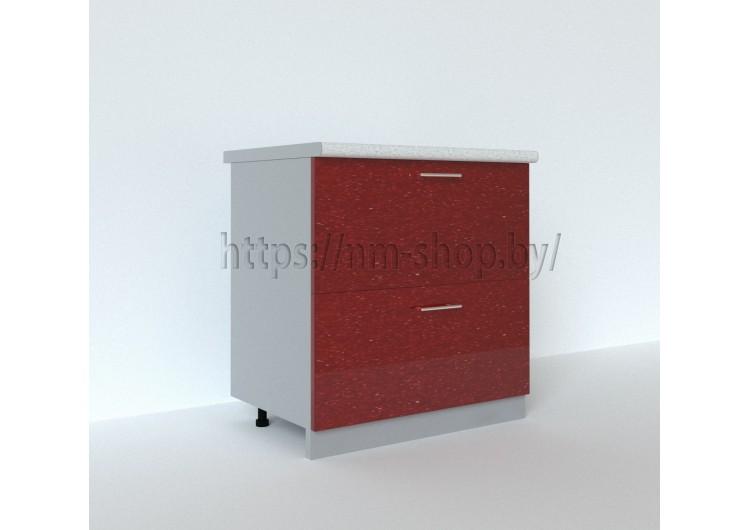 Шкаф нижний с двумя ящиками С2К 800