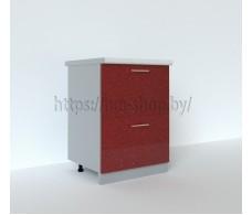 Шкаф нижний с двумя ящиками С2К 600