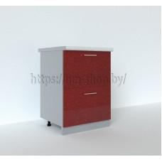 Шкаф нижний 600 (2 больших ящика) ШНГ2Я/С2К 600