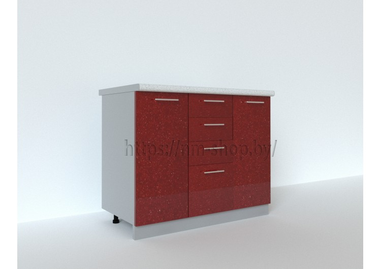 Шкаф нижний комбинированный ШНК 1000