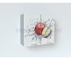 Фотопечать Красное яблоко Шкаф верхний ШВ 800